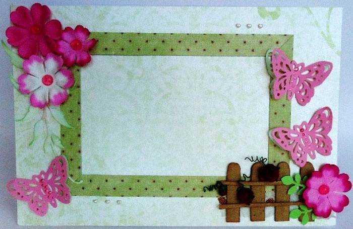 Рамка из картона для детского рисунка своими руками 49