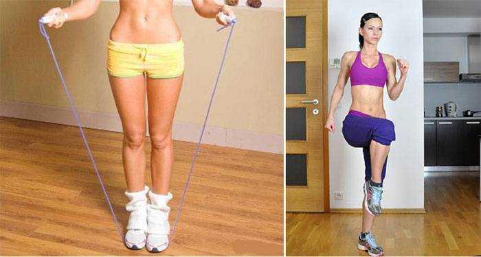 Какие упражнадо делать чтоб похудеть