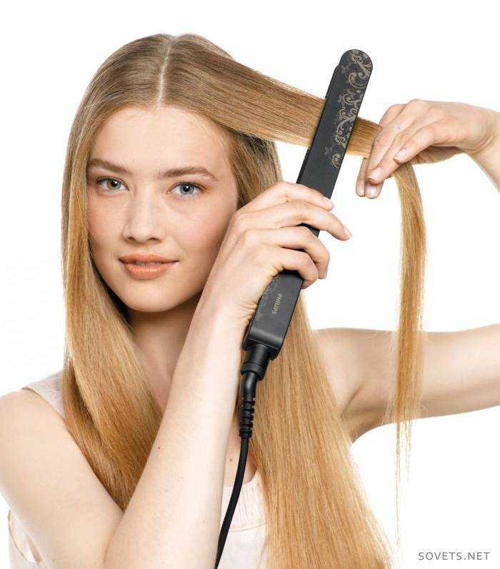 выпрямитель для волос прически в картинках