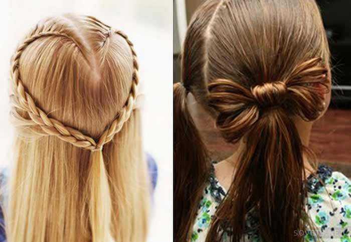 набор красивые прически на длинные волосы девочке чему