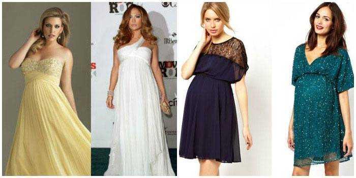 Какие платья носить беременным фото 86