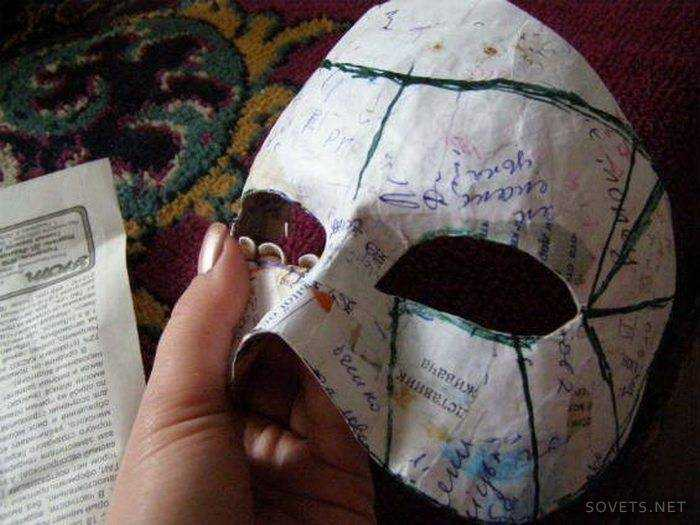 Как делать маску своими руками