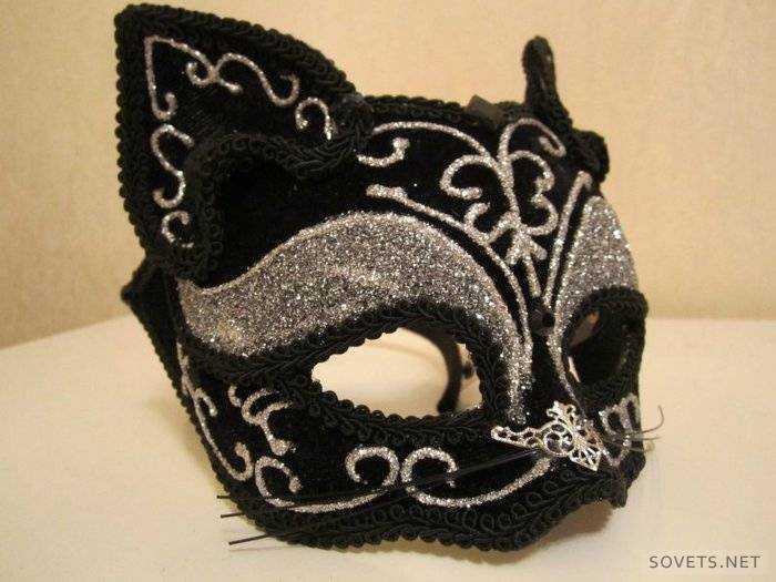 Маскарадные маски для девушки своими руками 37