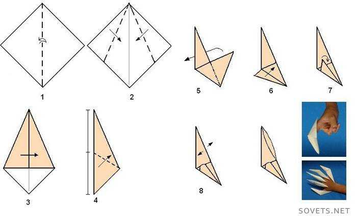 Поделки из листов а4 своими руками 68