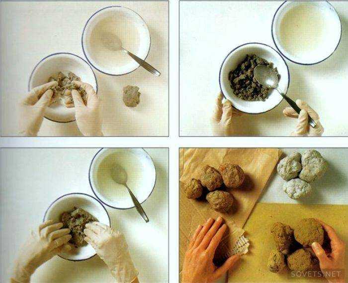 Как сделать бусы из папье-маше